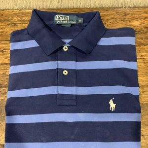 Navy and light blue Polo Ralph Lauren shirt